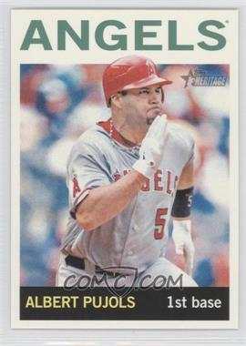 2013 Topps Heritage Venezuelan #470.2 - Albert Pujols (Action Photo)