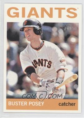 2013 Topps Heritage Venezuelan #490.2 - Buster Posey (Action Photo)