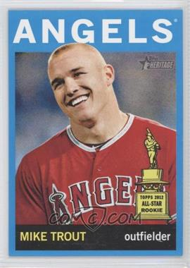 2013 Topps Heritage Wal-Mart [Base] Blue #430 - Mike Trout