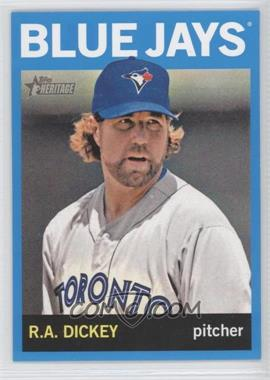 2013 Topps Heritage Wal-Mart [Base] Blue #464 - R.A. Dickey