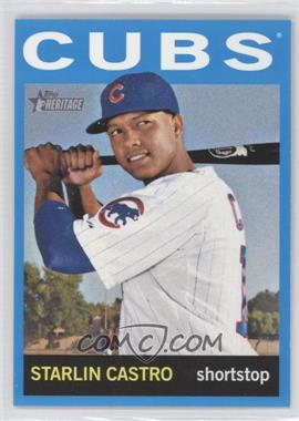 2013 Topps Heritage Wal-Mart [Base] Blue #485 - Starlin Castro