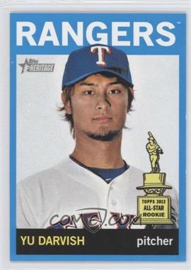 2013 Topps Heritage Wal-Mart Blue #125 - Yu Darvish