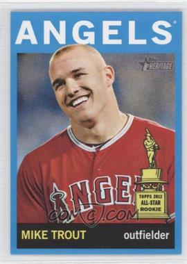 2013 Topps Heritage Wal-Mart Blue #430 - Mike Trout