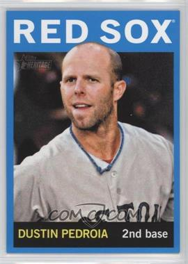 2013 Topps Heritage Wal-Mart Blue #434 - Dustin Pedroia