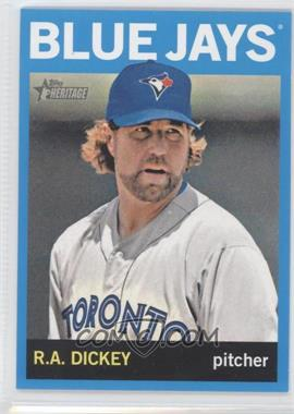 2013 Topps Heritage Wal-Mart Blue #464 - R.A. Dickey