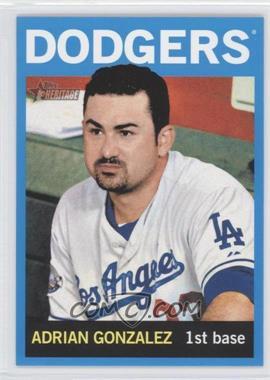 2013 Topps Heritage Wal-Mart Blue #472 - Adrian Gonzalez