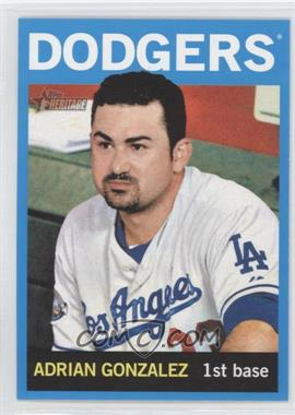 2013 Topps Heritage Wal-Mart Blue #472 - Adrian Gonzalez