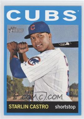 2013 Topps Heritage Wal-Mart Blue #485 - Starlin Castro