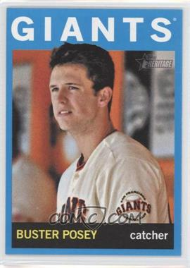 2013 Topps Heritage Wal-Mart Blue #490 - Buster Posey