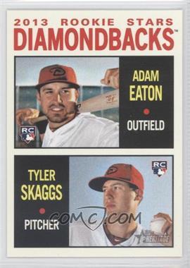 2013 Topps Heritage #356 - 2013 Rookie Stars (Adam Eaton, Tyler Skaggs)