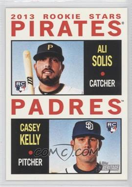 2013 Topps Heritage #388 - 2013 Rookie Stars (Ali Solis, Casey Kelly)