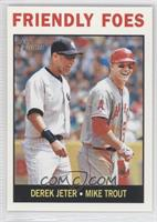 Friendly Foes (Derek Jeter, Mike Trout)