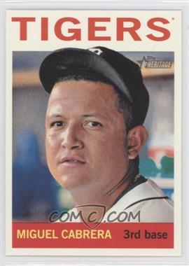 2013 Topps Heritage #426.1 - Miguel Cabrera (Base)