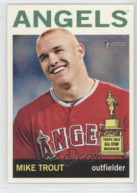 2013 Topps Heritage #430.1 - Mike Trout (Base)