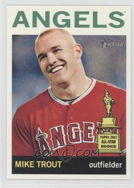 2013 Topps Heritage #430A - Mike Trout