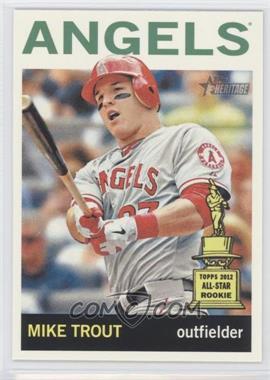2013 Topps Heritage #430B - Mike Trout (Swinging Bat)
