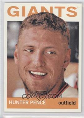 2013 Topps Heritage #431 - Hunter Pence