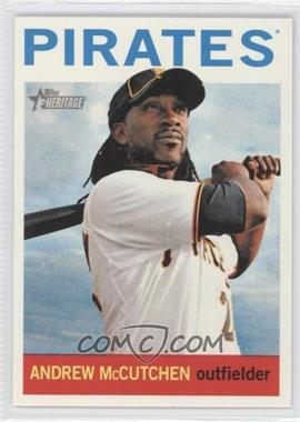 2013 Topps Heritage #438A - Andrew McCutchen (Swigning Bat)