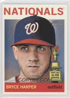 2013 Topps Heritage #440A - Bryce Harper