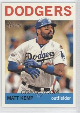 2013 Topps Heritage #450.2 - Matt Kemp (Action Photo)