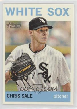 2013 Topps Heritage #455.1 - Chris Sale (Base)