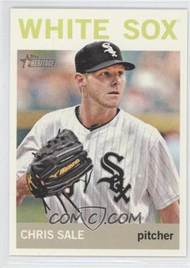 2013 Topps Heritage #455.2 - Chris Sale (Color Variation)