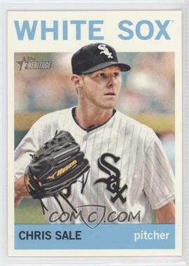 2013 Topps Heritage #455A - Chris Sale