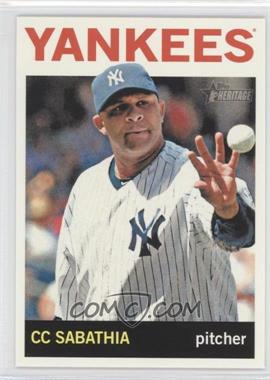 2013 Topps Heritage #456.2 - C.C. Sabathia (Action Photo)