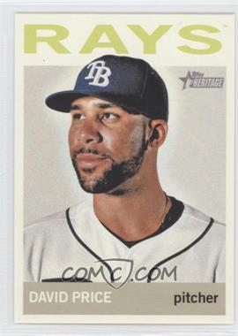 2013 Topps Heritage #458.2 - David Price (Color Variation)