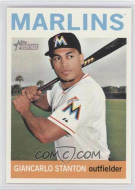 2013 Topps Heritage #463.1 - Giancarlo Stanton (Base)