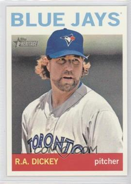2013 Topps Heritage #464 - R.A. Dickey