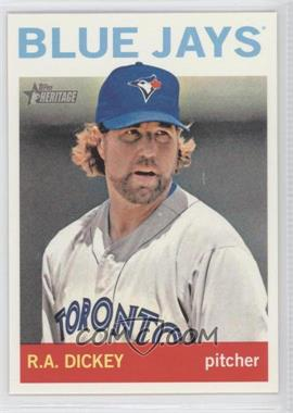 2013 Topps Heritage #464.1 - R.A. Dickey (Base)