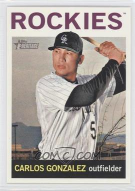 2013 Topps Heritage #466 - Carlos Gonzalez