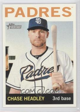 2013 Topps Heritage #467 - Chase Headley