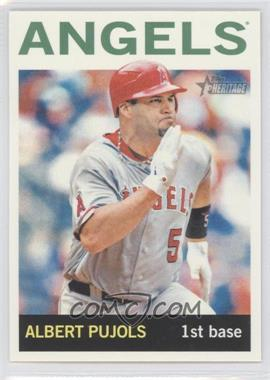 2013 Topps Heritage #470.2 - Albert Pujols (Action Photo)
