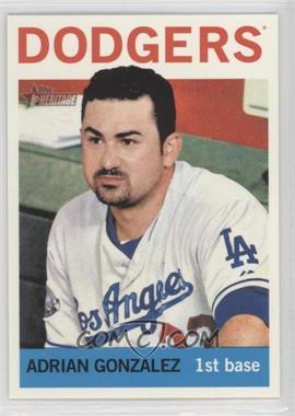 2013 Topps Heritage #472 - Adrian Gonzalez