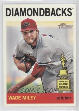 2013 Topps Heritage #474 - Wade Miley