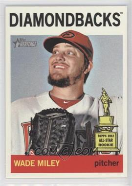 2013 Topps Heritage #474.1 - Wade Miley (Base)