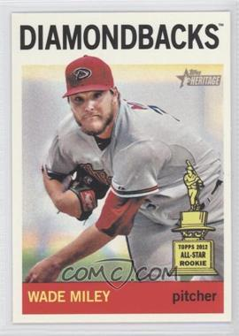 2013 Topps Heritage #474.2 - Wade Miley (Action Photo)