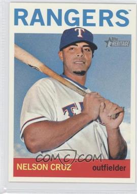 2013 Topps Heritage #482 - Nelson Cruz