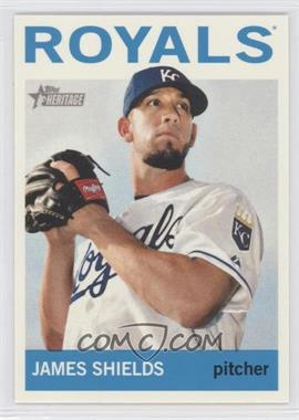 2013 Topps Heritage #483 - James Shields
