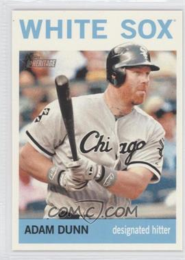 2013 Topps Heritage #484.2 - Adam Dunn (Action Photo)