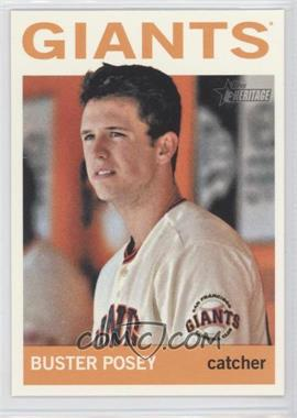 2013 Topps Heritage #490 - Buster Posey