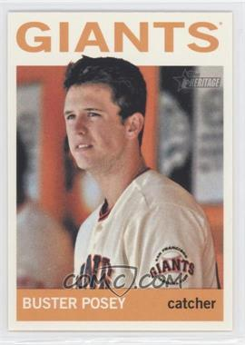 2013 Topps Heritage #490.1 - Buster Posey (Base)