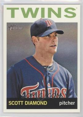 2013 Topps Heritage #495 - Scott Diamond