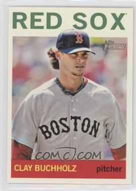 2013 Topps Heritage #496 - Clay Buchholz