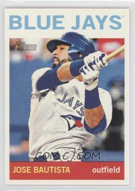 2013 Topps Heritage #89.2 - Jose Bautista (Action Photo)
