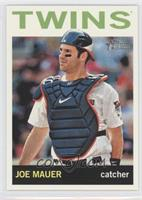 Joe Mauer (Action Photo)