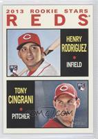 2013 Rookie Stars (Henry Rodriguez, Tony Cingrani)