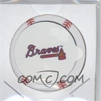 2013 Topps MLB Chipz Silver Team Logo Sticker #BJUP - B.J. Upton